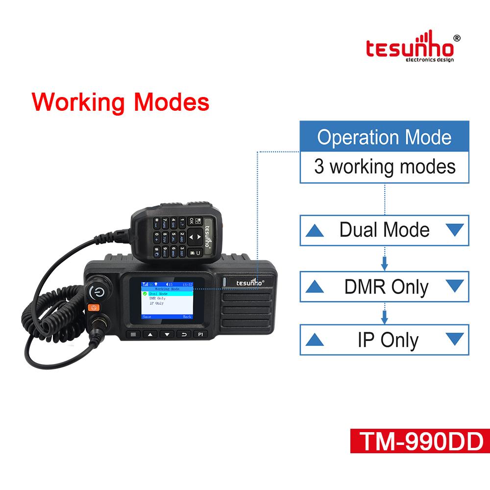 Dual Mode Car Walkie Talkie TM990DD