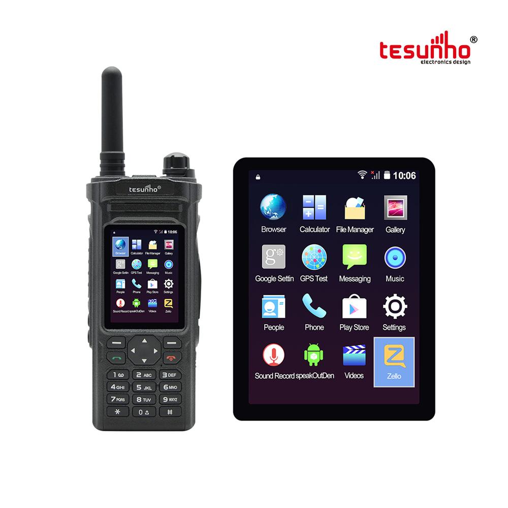 TH-588 Public Network Zello 2way Radio With Wifi