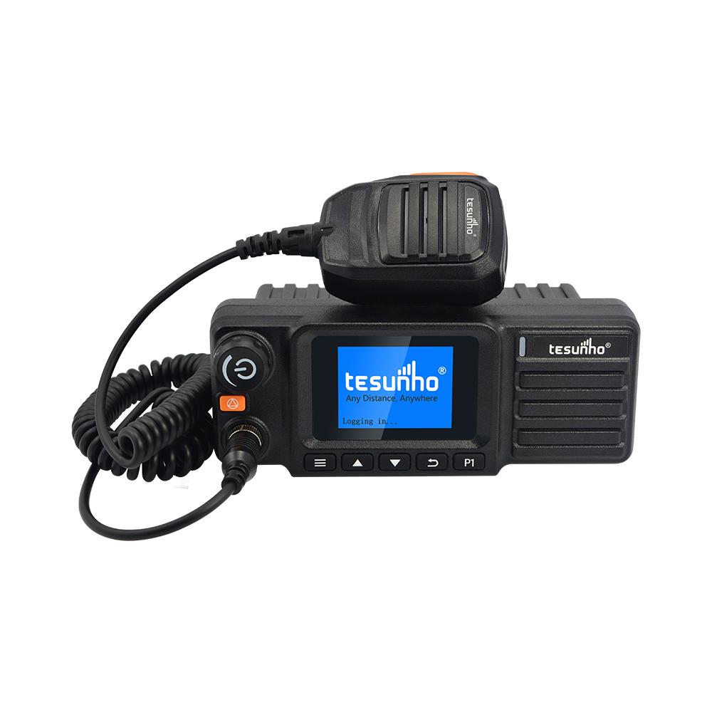 2020 TM-990 4g dual mode walkie talkie dmr poc mobile radio for taxi