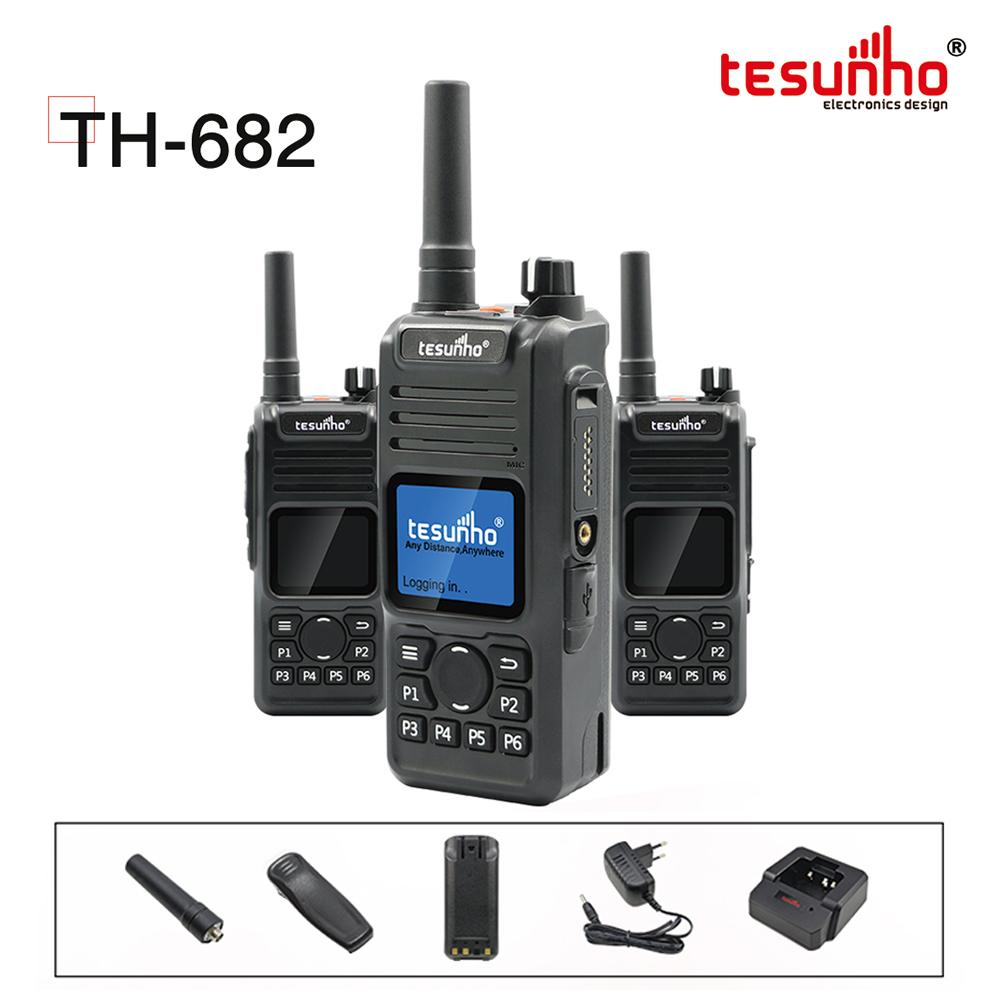 TESUNHO TH-682 2020 New Product 4G IP Walkie Talkie