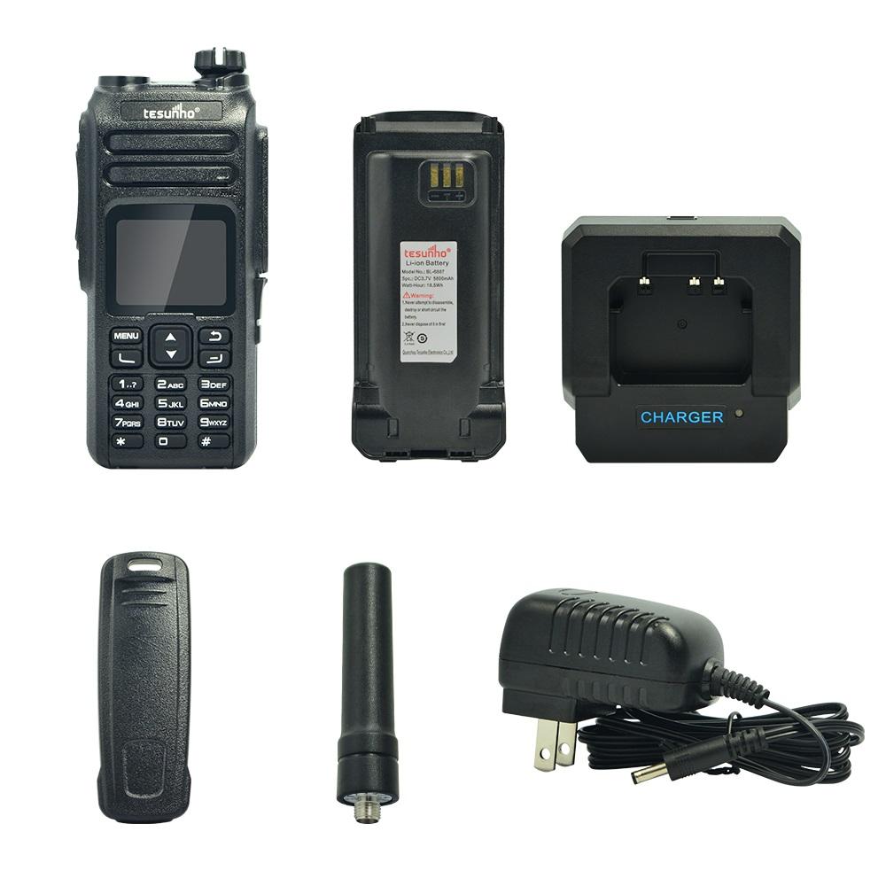 PoC Network Radios, Full Keyboard 4G Walkie Talkie, Nice Sound TH-681