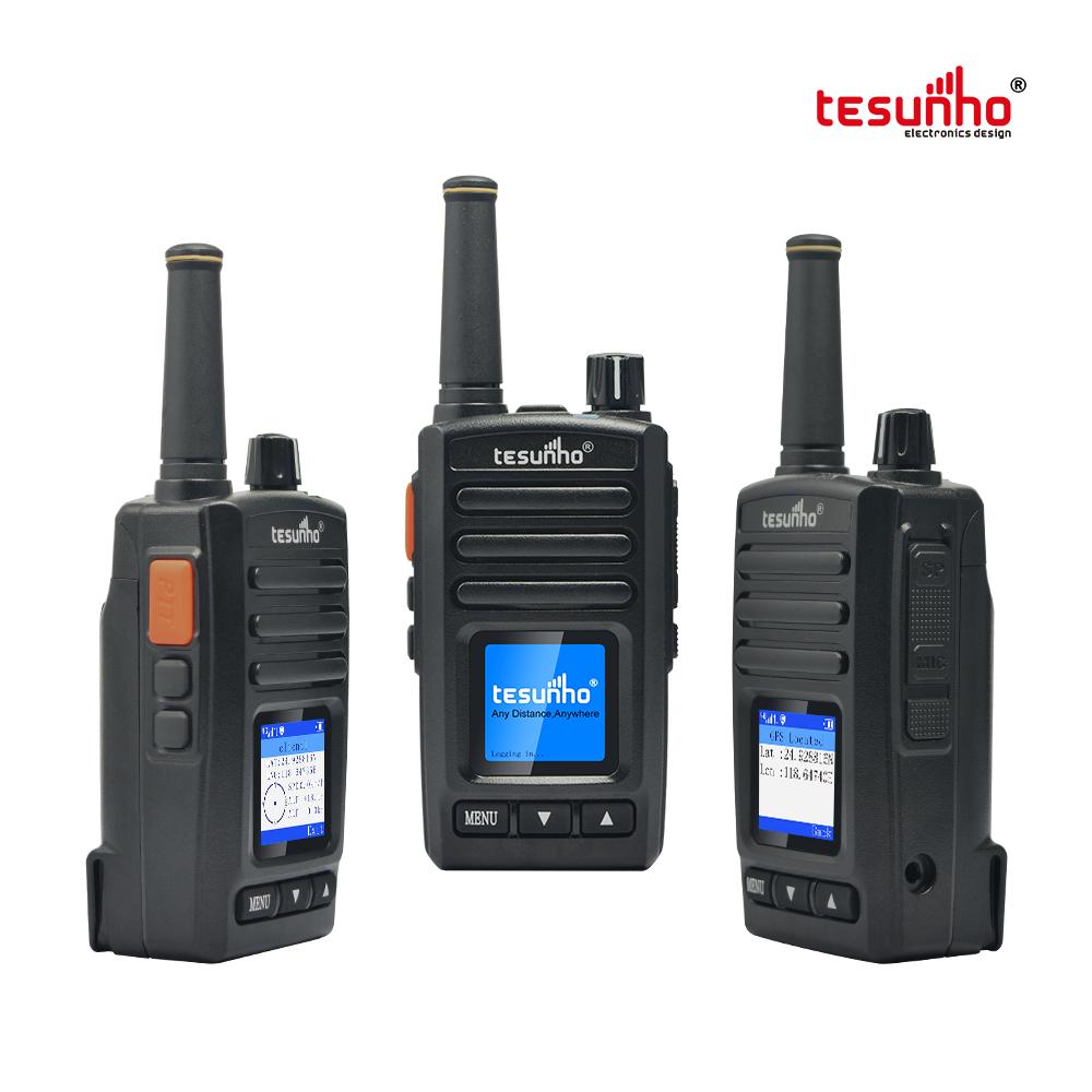 Tesunho Radio With SIM Card GSM WCDMA Internet Walkie Talkie TH-282