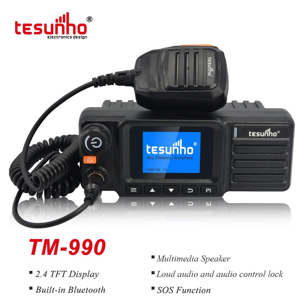 Vehicle & Base Station Two Way Radios, 4G LTE Car Mobile Radios TM-990