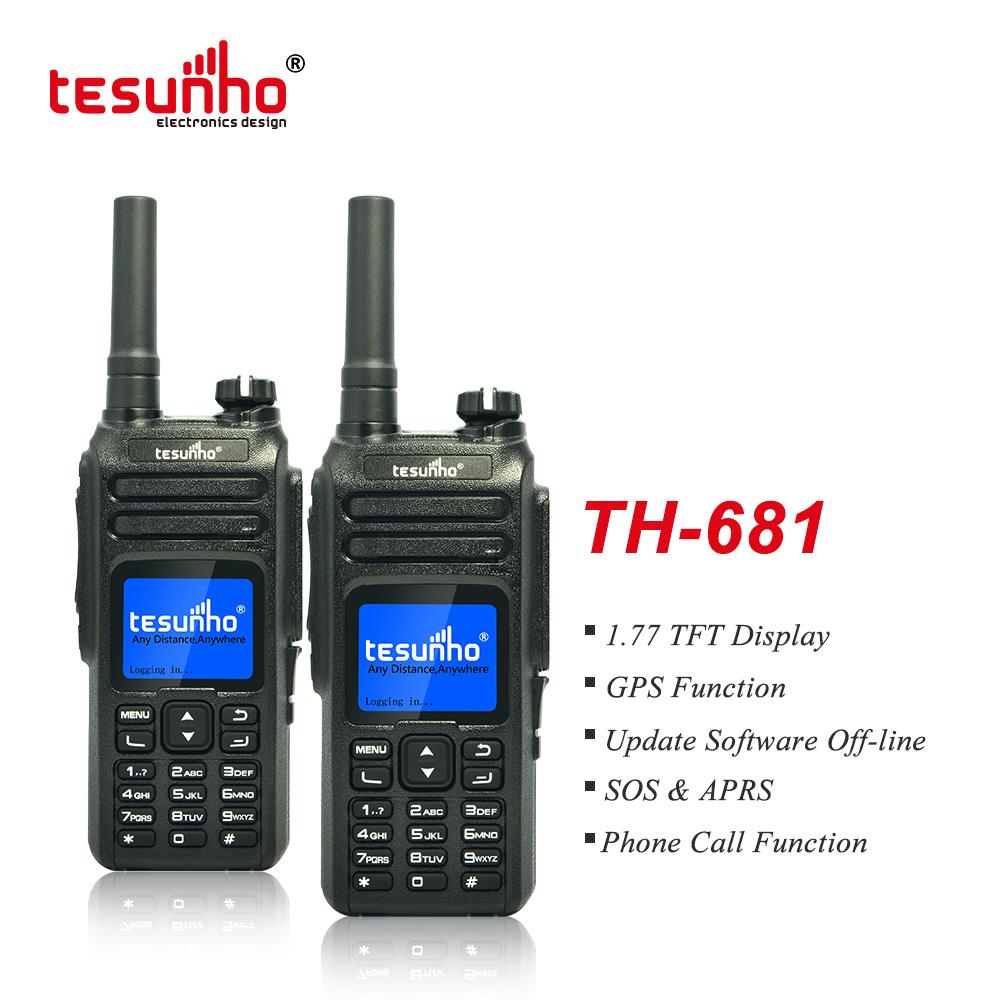 Unified Team Communications, Full Keyboard 4G Walkie Talkie, Nice Sound TH-681