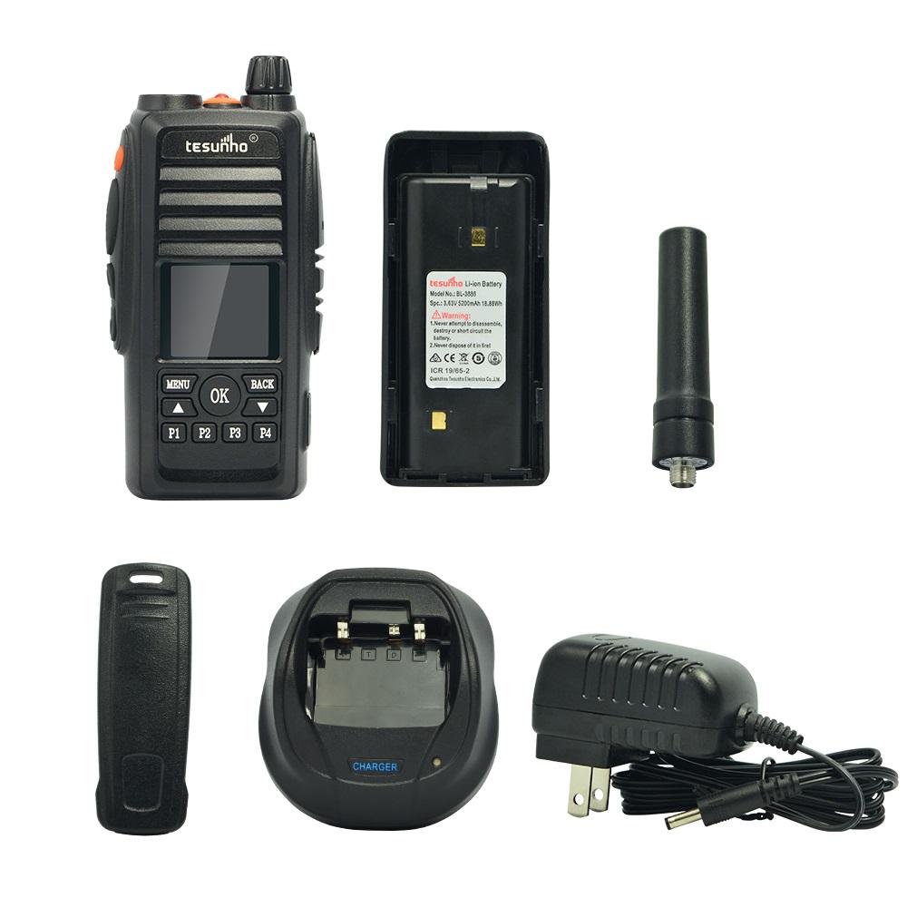 Walkie Talkie 4G Dual Simcard Two Way Radio With SOS TESUNHO TH-388