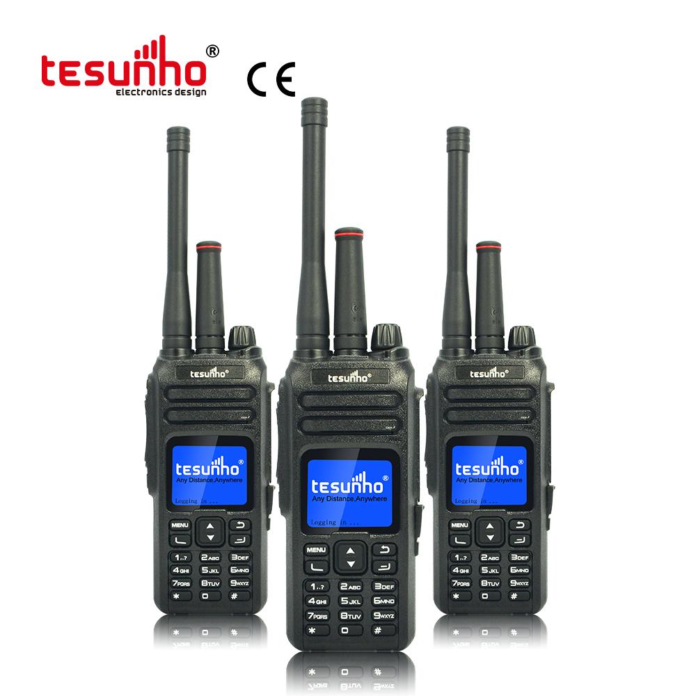 Analog VHF/UHF POC LTE Walkie Talkie For Rescue TH-680