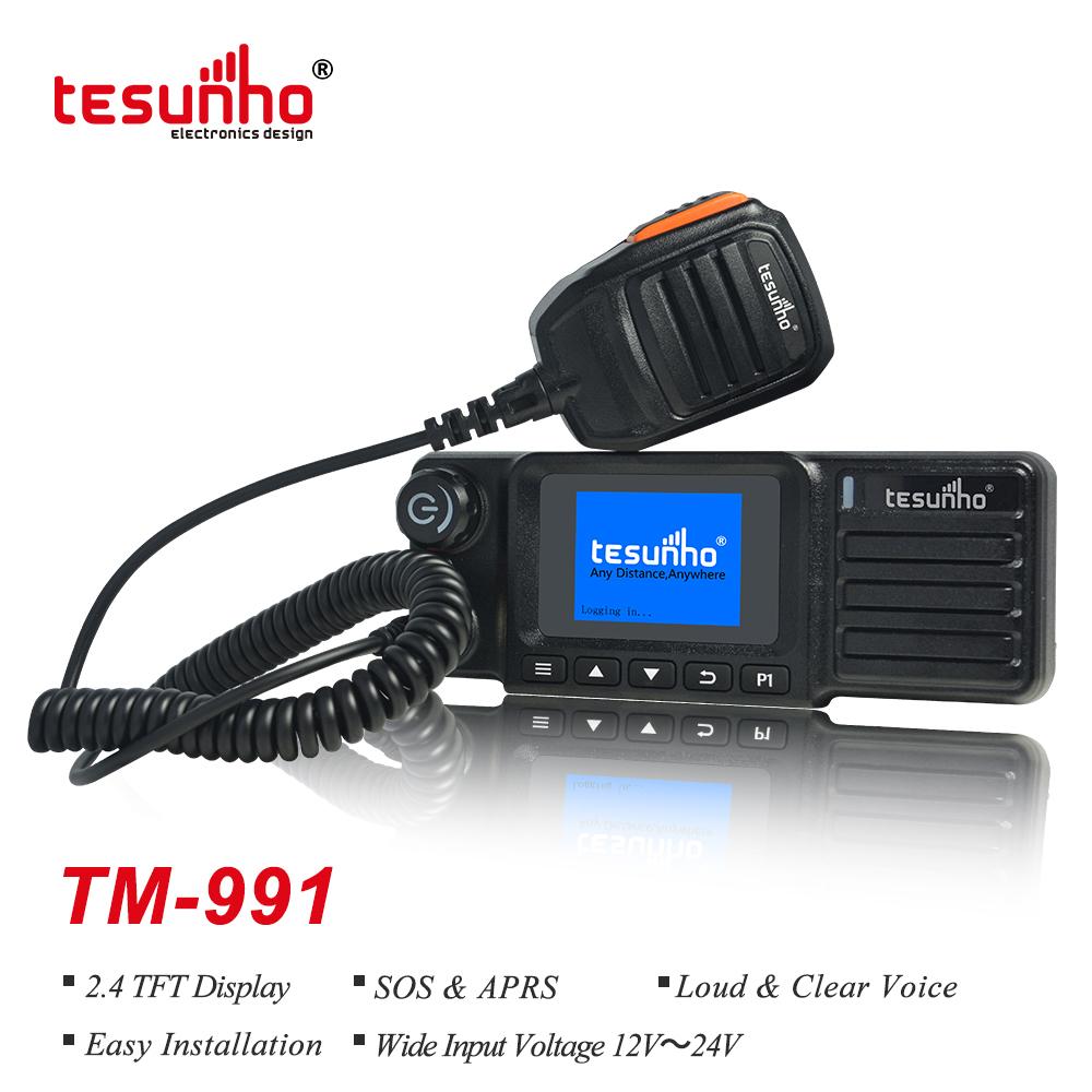 School Transportation Bus Radios, FCC Mobile Radios, 4G LTE Land Mobile Radios TM-991