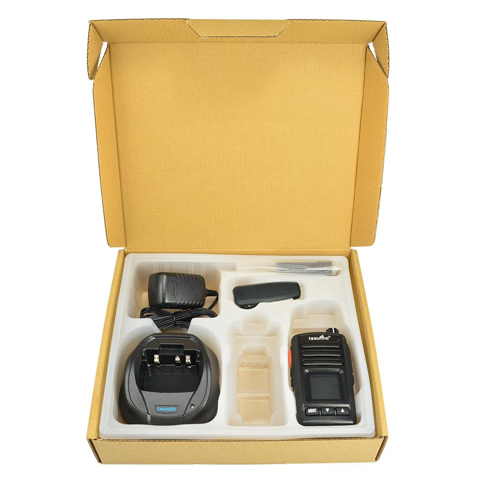 2 Way Portable Radios 200 km, LTE Smart PoC Radios, Portable Travel Walkie Talkie, GPS Positioning TH-282