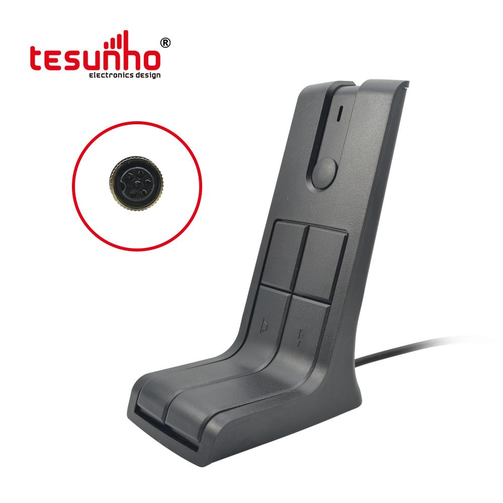 Desktop Microphone Used for Walkie Talkie ,Mobile Radio Handmic TA-M1