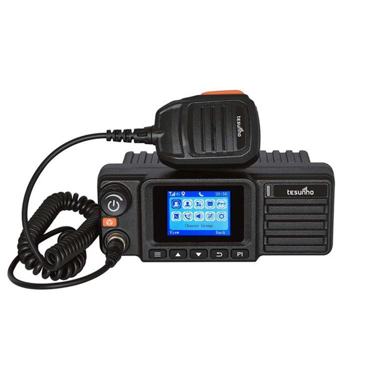 Transceiver UHF VHF Analog Dmr Mobile Long Range Walkie Talkie