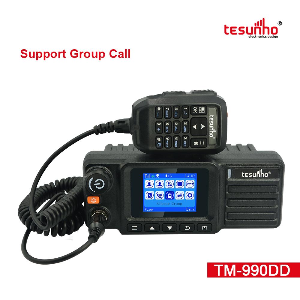 Tesunho TM990DD Dual Mode Car Walkie Talkie For Taxi