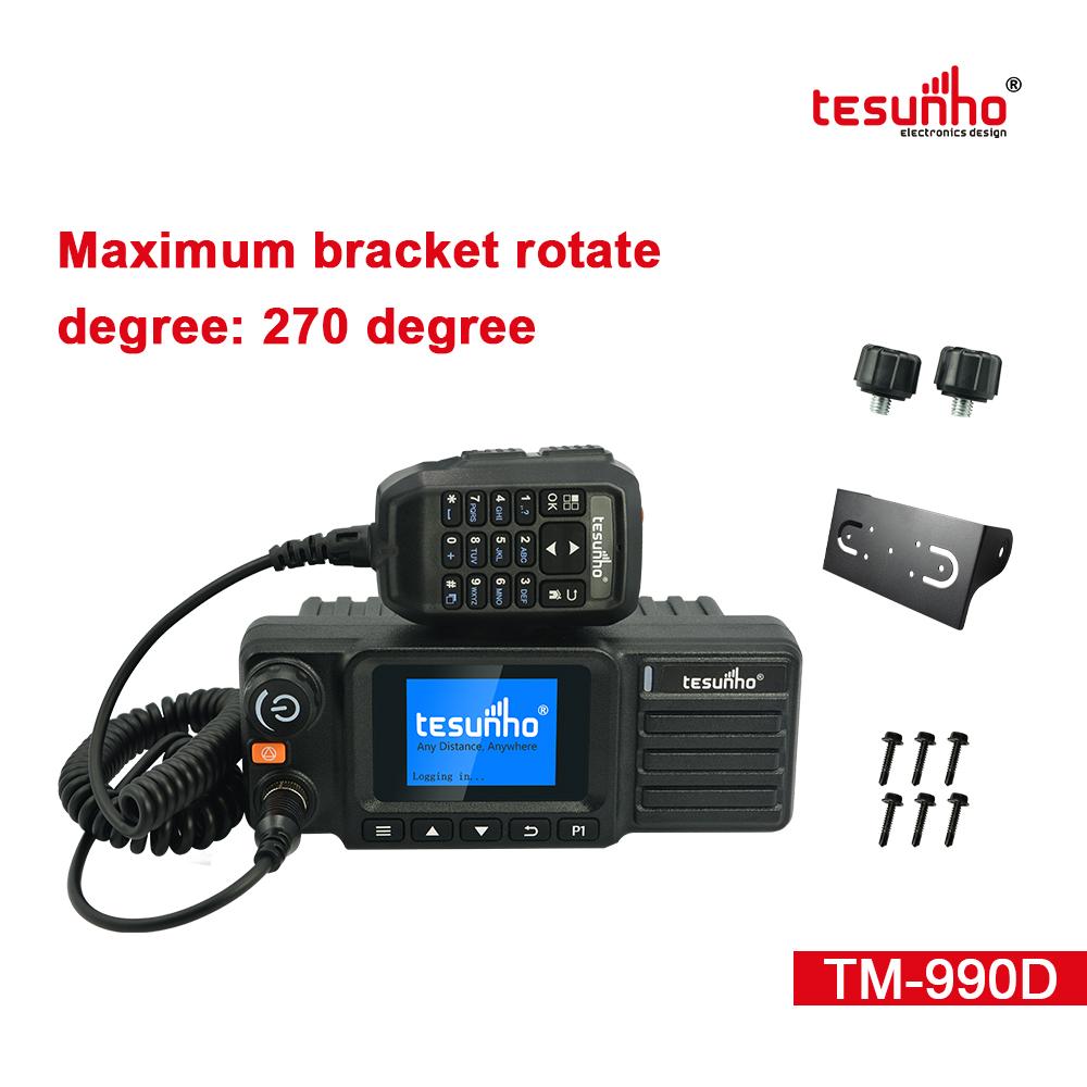 TM-990D Vehicle Mounted Radios, Analog IP Mobile Radios, 500 miles, PoC Radio, Heavy Duty Truck Radio