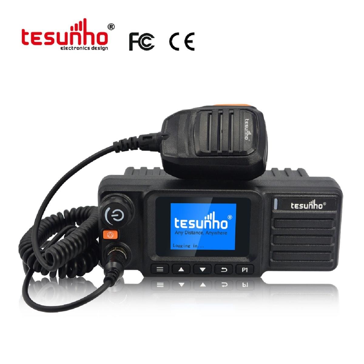 UHF IP POC Combined Mobile Radio 4G Walkie Talkie With GPS TM-990