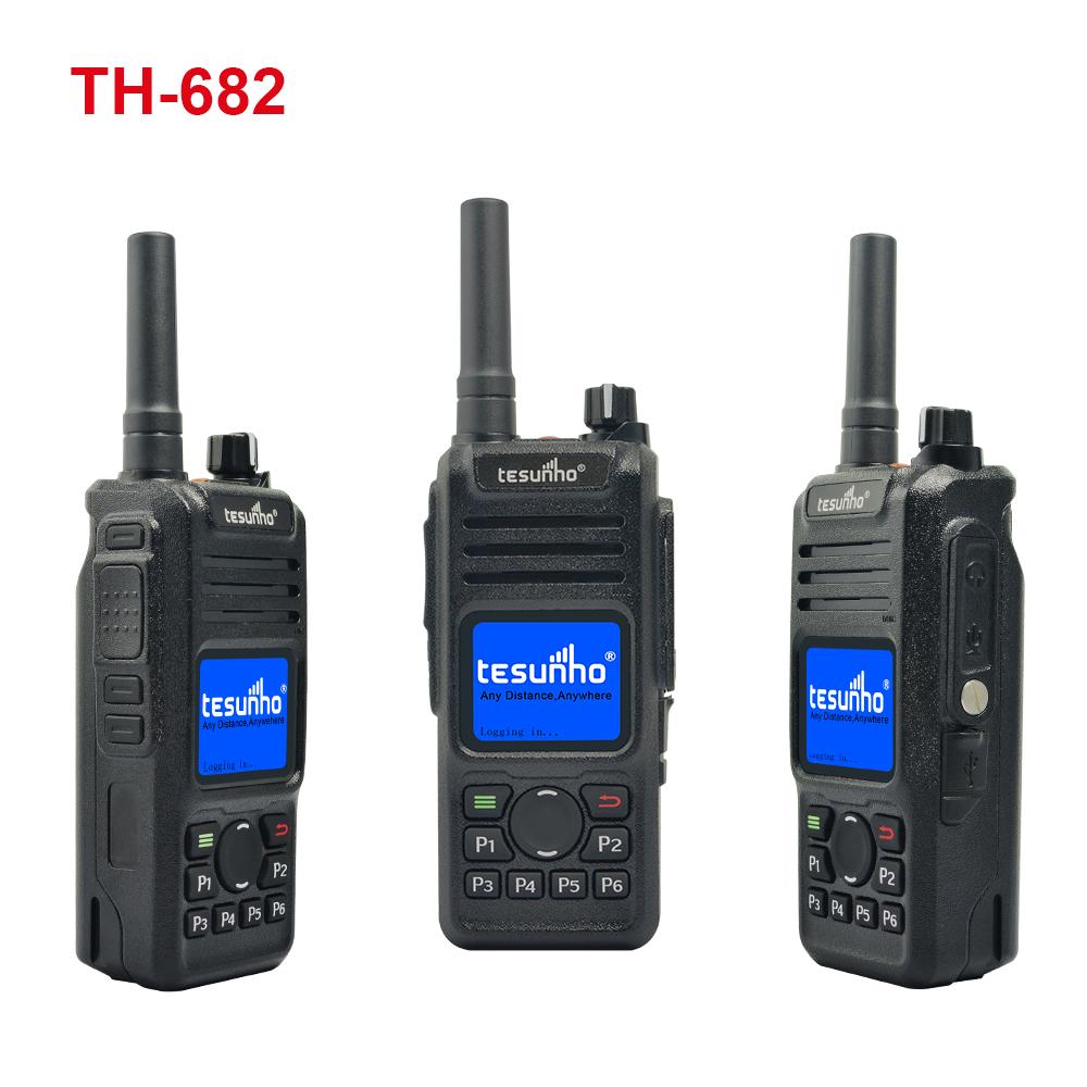100 km long range RFID walkie talkie portable radio with bluetooth TH-682