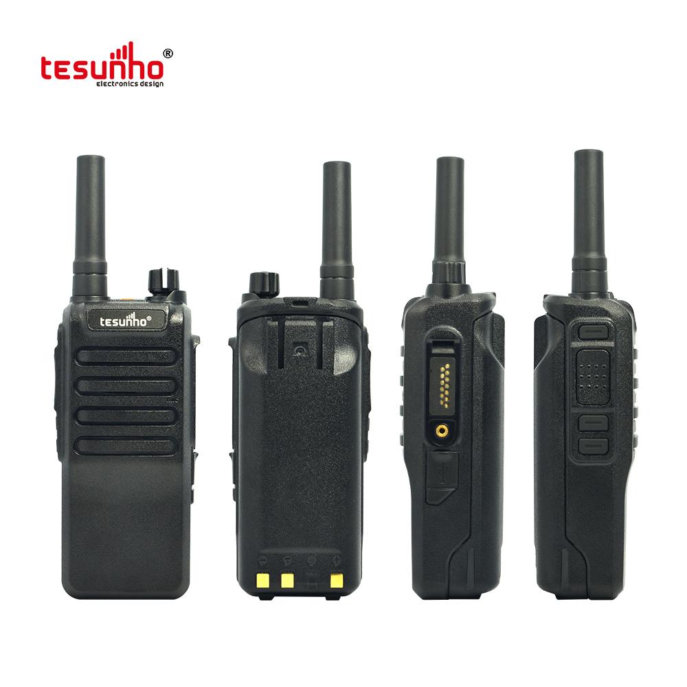 WIFI Walkie Talkie POC Radio With GPS Tracking On Dispatcher TH-518