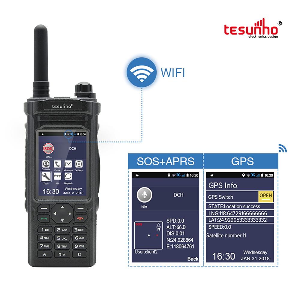 Android PTT WIFI WCDMA Radio Tesunho TH-588