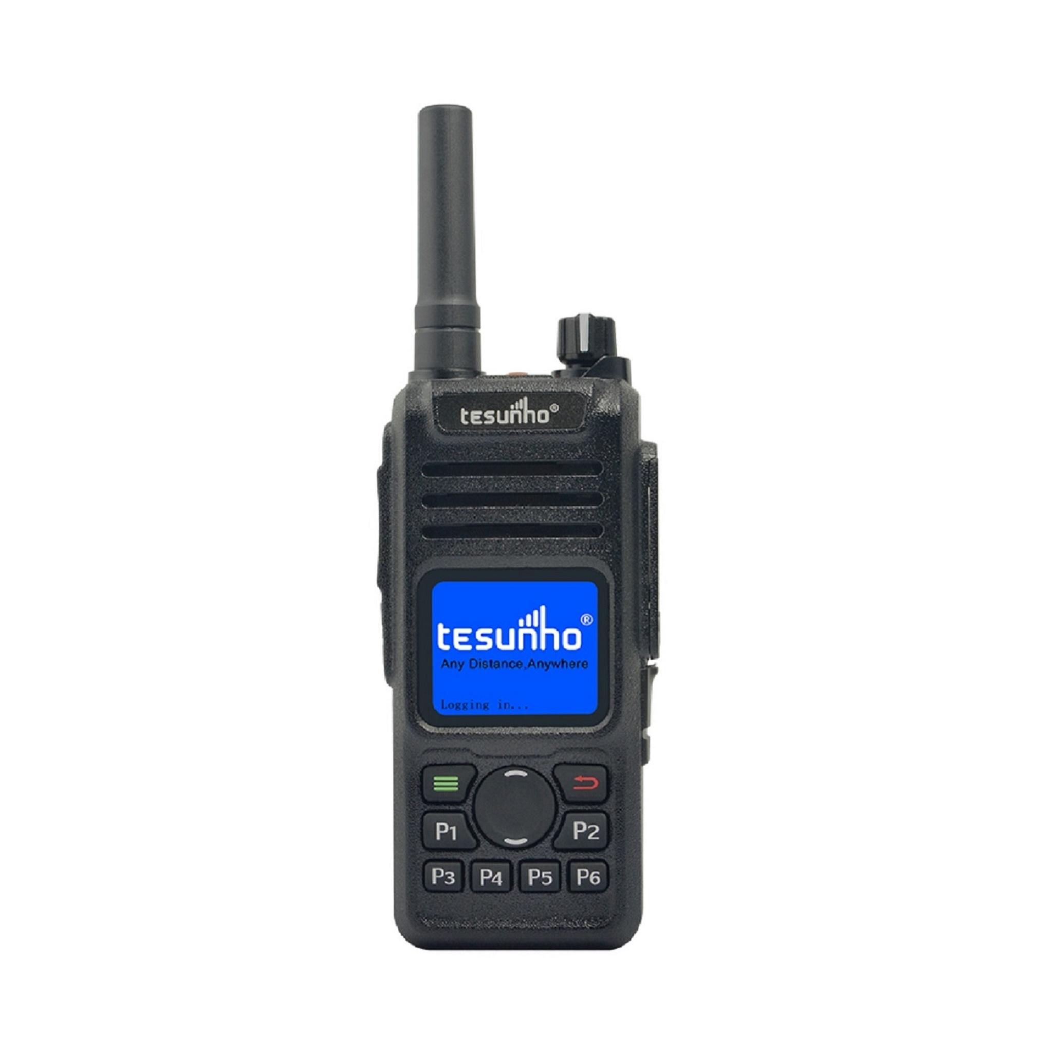 Tesunho Internet Radio With RFID GPS Patrol Walkie Talkie TH-682