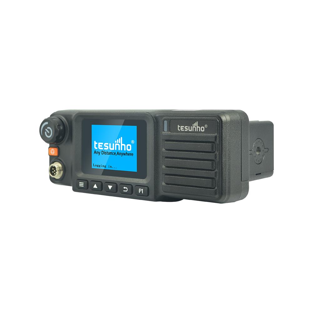 Tesunho TM990DD Vehicle Walkie Talkie 4G DMR Radio For Transporting Company