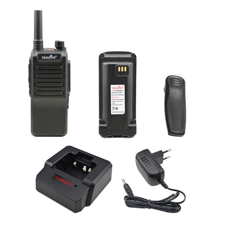 Tesunho TH-518L 4G LTE Push-To-Talk Walkie Talkie For Rental