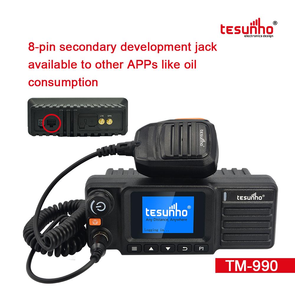 Tesunho Multi Purpose POC + Vehicle Walkie Talkie,  Logistics Walky-talky TM-990