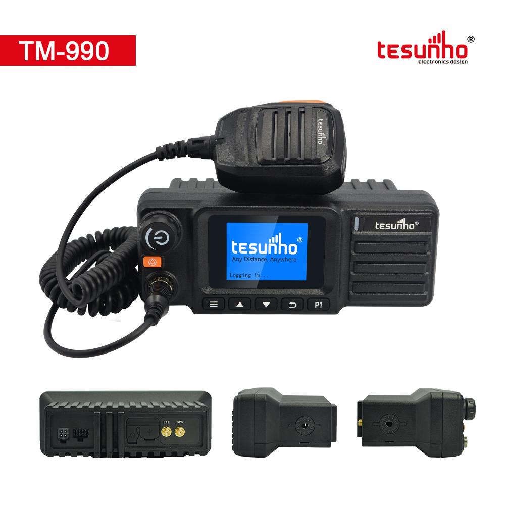 2020 TM-990 4G Walkie Talkie Poc Mobile Radio For Logistics